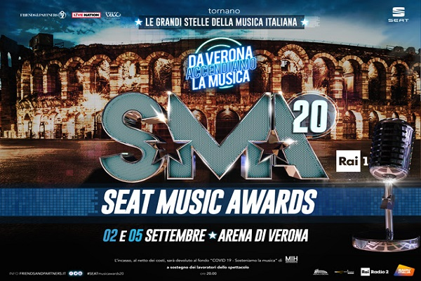 "ISEAT MUSIC AWARDS 2020 - ""DA VERONA ACCENDIAMO LA MUSICA"""